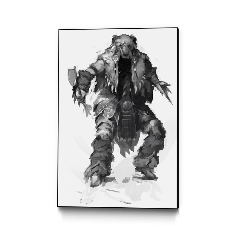 Bear Armour Assassin S Creed 3 Gaming Wall Art Ubisoft Store