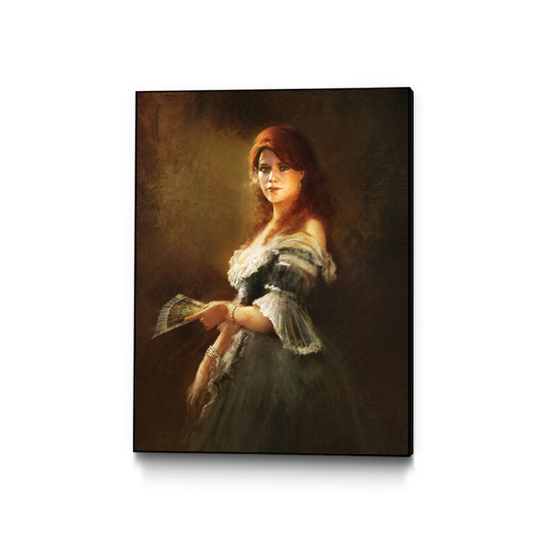 Portrait Of Elise Assassin S Creed Unity Gaming Wall Art