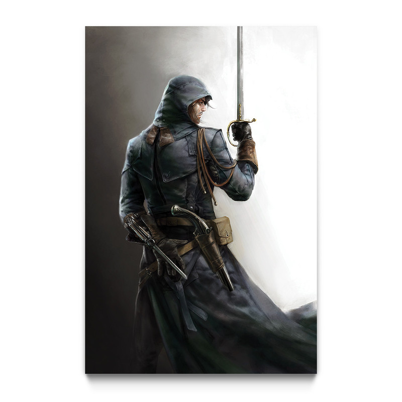 Arno Dorian Assassin S Creed Unity Gaming Wall Art Ubisoft Store