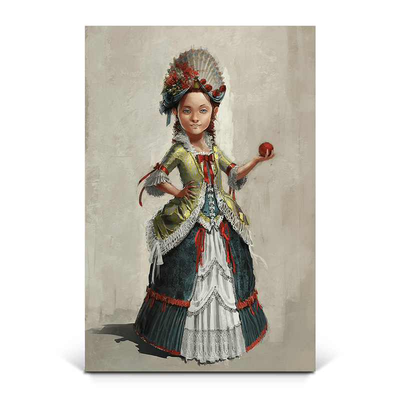 Young Elise Assassin S Creed Unity Gaming Wall Art Ubisoft Store