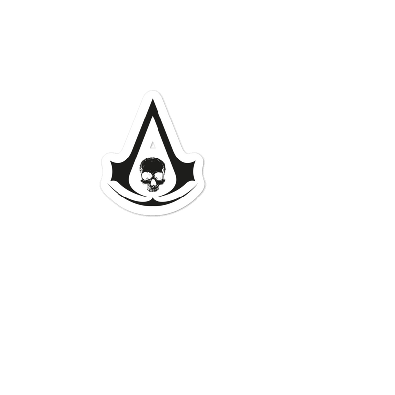 Black Flag Crest Stickers Assassin S Creed I Merchandise