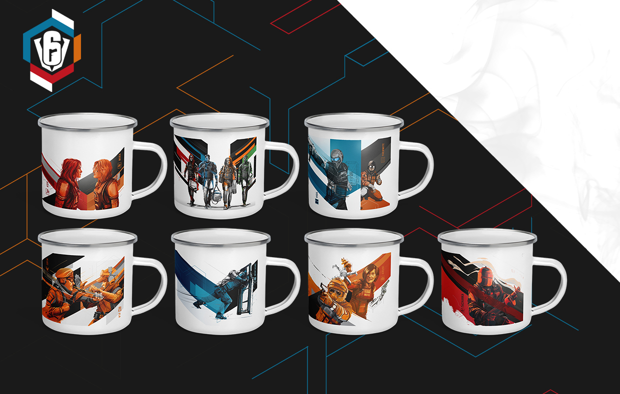 SIX INVITATIONAL MUG COLLECTION