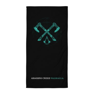 Axes Towel Assassin S Creed Valhalla Merchandise Ubisoft Store