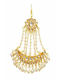 Runjhun Jewellery Kundan  Royal Designer Ethnic Traditional Maangtika
