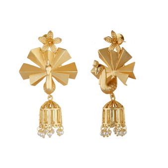 Runjhun Jewellery Amrapali Designer Danglers for Women Girls