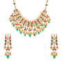 Runjhun Jewellery Ruby Kundan Designer Necklace for Women & Girl