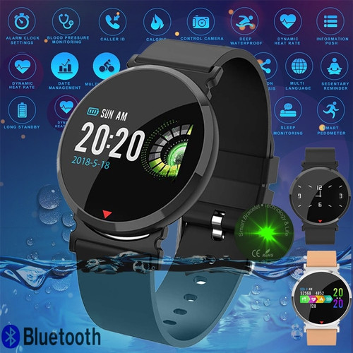 Double Agent IP67 Waterproof Fitness Smart Watch for iOS + Android