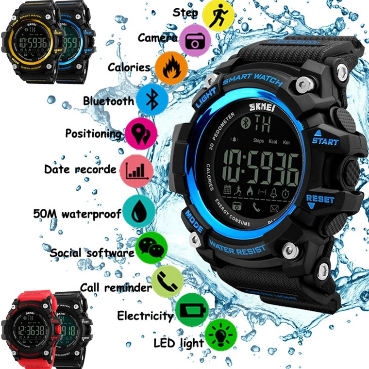 Large Dial Shock Outdoor Military Sports Watch