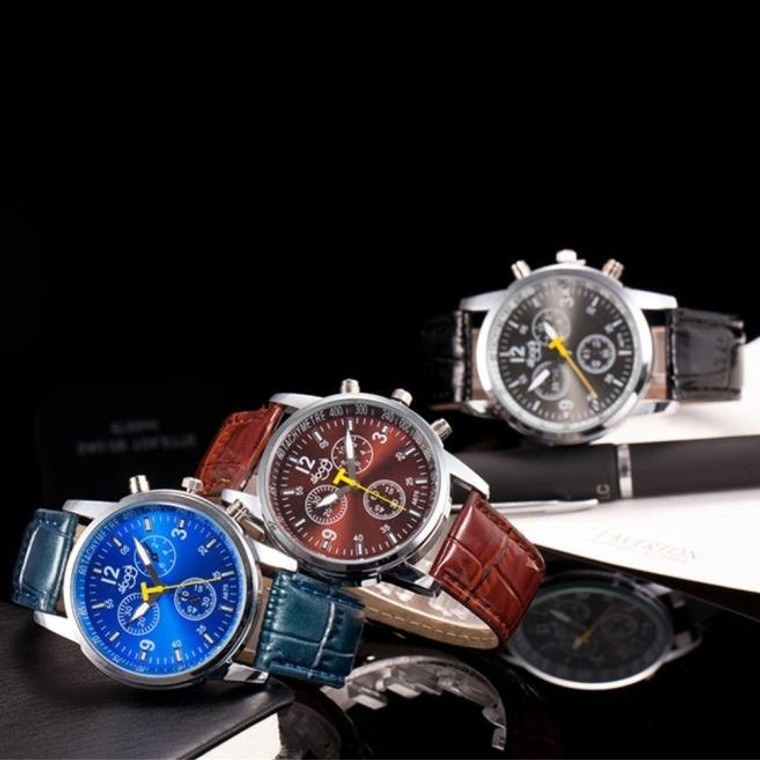 Business Man Luxury Watch Collection