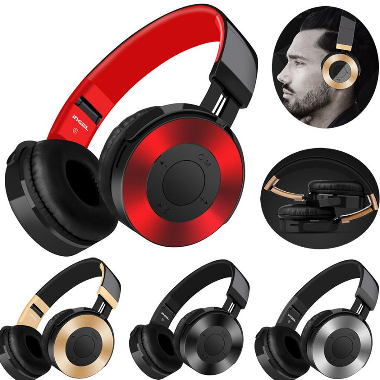 Bluetooth Headphones Over Ear Hi-Fi Stereo