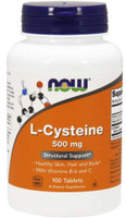 NOW Foods L-Cysteine 500mg