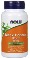 Black Cohosh Root - 80mg 90 Vege Capsules