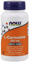 NOW Foods L-Carnosine 500mg