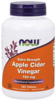 Now Foods Apple Cider Vinegar 750mg 180 Tablets