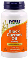 Now Black Currant Oil 500 mg 100Softgels