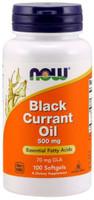 Now Black Currant Oil 500 mg 100Softgels