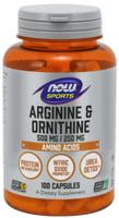 Now Sports  Arginine & Orthinine 100 Caps