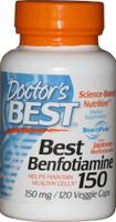 Doctor's Best Benfotiamine 150mg