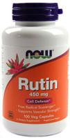 Now Rutin 450mg 100 Vege Caps