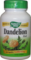 Nature's Way Dandelion Root - 100 Caps