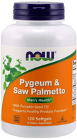 Now Pygeum and Saw Palmetto