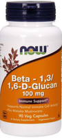 NOW Foods Beta Glucan 100mg 90 Vege Caps
