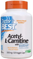 Doctor's Best Acetyl L-Carnitine - 120 Capsules