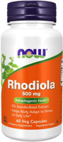 Now Foods Rhodiola, 500mg, 60 vege caps