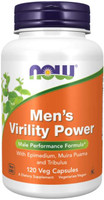 Now Mens Virility Power, 120 Vege Caps