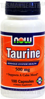 NOW Foods Taurine 500mg