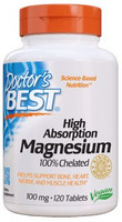 Doctor's Best High Absorption Magnesium 100mg