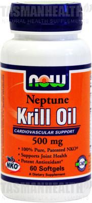 NOW Foods Neptune Krill Oil 500mg