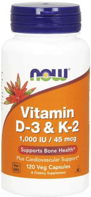 NOW Foods Vitamin D-3 K-2