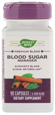Nature's Way Blood Sugar Manager 90 Caps