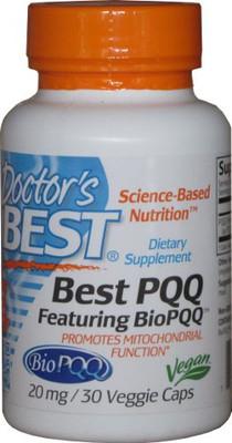 Tasman Health, Pyrroloquinoline Quinone, Doctor's Best PQQ 20mg