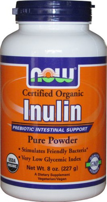 NOW Foods Inulin Powder
