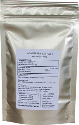 Tasman Health, Acai Berry Extract