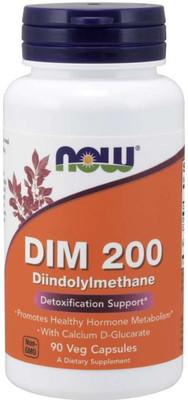 Now DIM 200, Diindolylmethane, detox, detoxification, metabolism