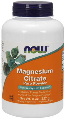 Now Foods - Pure Magnesium Citrate Powder