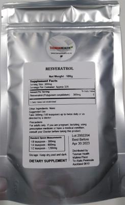 Resveratrol - 98% Pure - 320 serves
