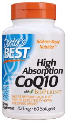 Doctor's Best High Absorption CoQ10 100mg