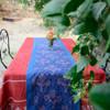 unique handmade tablecloth