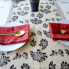 indian block printed table runner