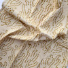 gold cotton napkins