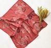 block printed cotton silk bandana