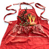 Red Holiday Apron