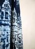 navy blue ikat curtains