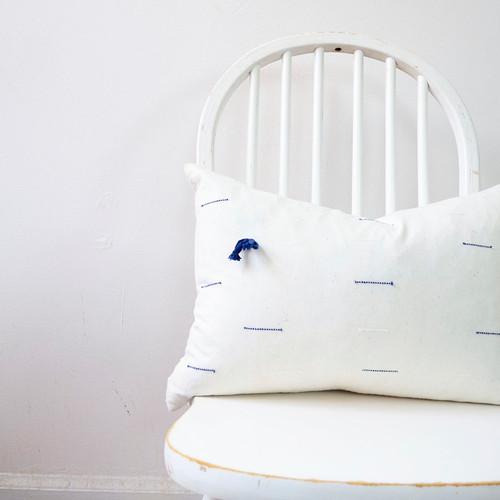 Farrah organic boudoir pillow