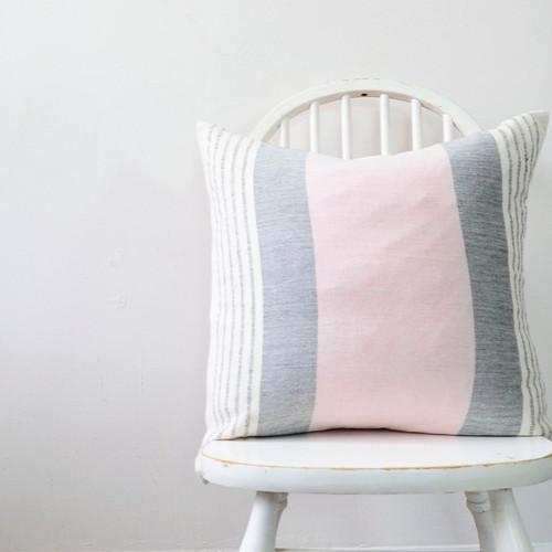 blush pink pillow
