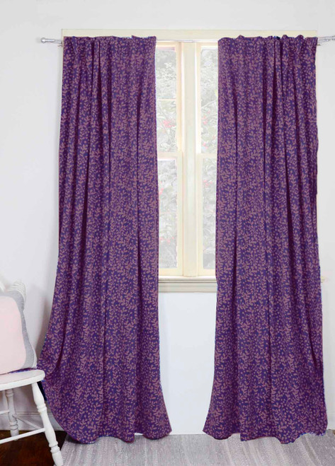Laila - Lavender Curtains